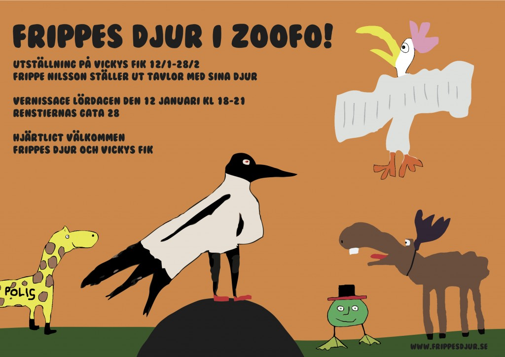 frippes djur i zoofo