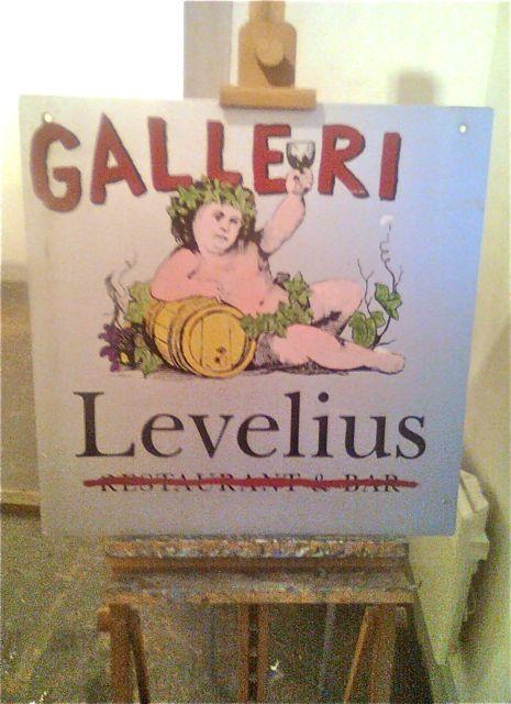 skylten på levelius